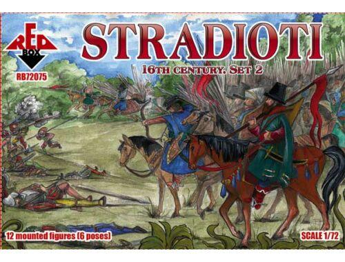 Red Box Stradioti, 16th century. Set 2 1:72 (72075)