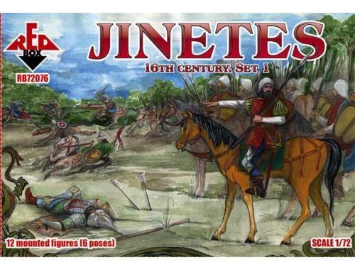 Red Box Jinetes, 16th century. Set 1 1:72 (72076)
