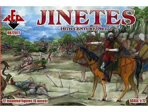 Red Box Jinetes, 16th century. Set 2 1:72 (72077)