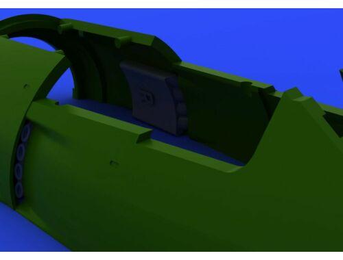 Eduard Fw 190A exhaust stacks for EDUARD 1:72 (672085)