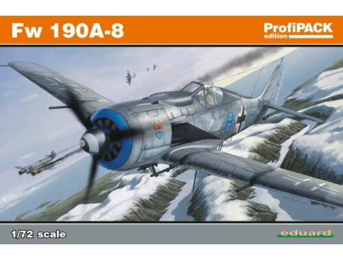 Eduard Fw 190A-8 ProfiPACK 1:72 (70111)