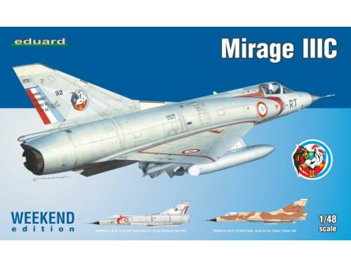 Eduard Mirage IIIC WEEKEND edition 1:48 (8496)