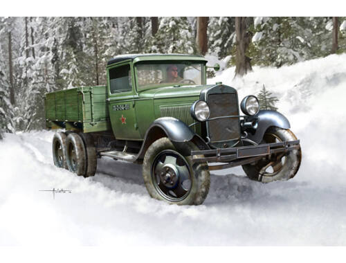 Hobby Boss Soviet GAZ-AAA Cargo Truck 1:35 (83837)
