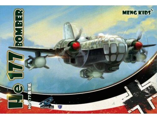 """Meng He 177 Bomber (Spec.) White Spirit """"MENG KIDS"""" (MP-003S)"""