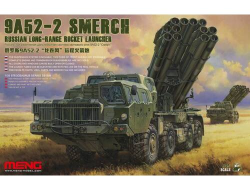 Meng Russian Long-Range Rocket Launcher9A52-2 Smerch 1:35 (SS-009)