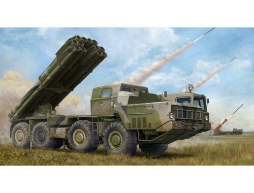 Trumpeter Russian 9A52-2 Smerch-M multiple rocket launcher of RSZO 9k58 Smerch MRLS 1:35 (1020)
