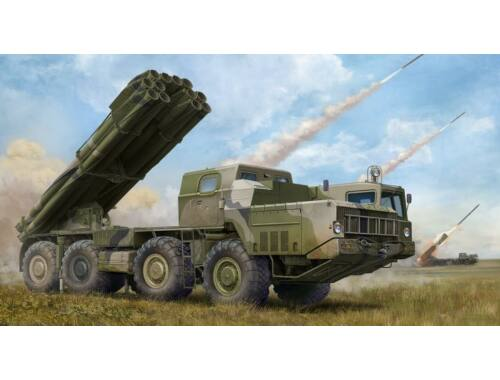 Trumpeter Russian 9A52-2 Smerch-M multiple rocket launcher of RSZO 9k58 Smerch MRLS 1:35 (1020)