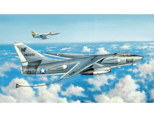 Trumpeter EKA-3B Skywarrior Strategic Bomber 1:48 (2872)