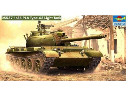 Trumpeter PLA Type 62 light Tank 1:35 (5537)