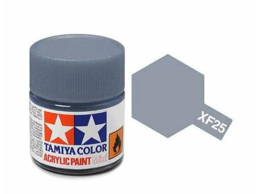 Tamiya AcrMini XF-25 Light Sea Grey (81725)