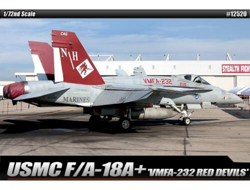 Academy USMC F/A-18  VMFA-232 Red Devils 1:72 (12520)
