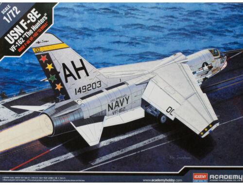 "Academy USN F-8E VF-162 ""The Hunters"" 1:72 (12521)"