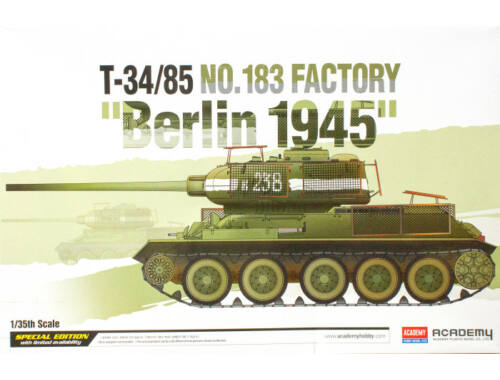 "Academy T-34:85 No.183 factory ""Berlin 1945"" 1:35 (13295)"