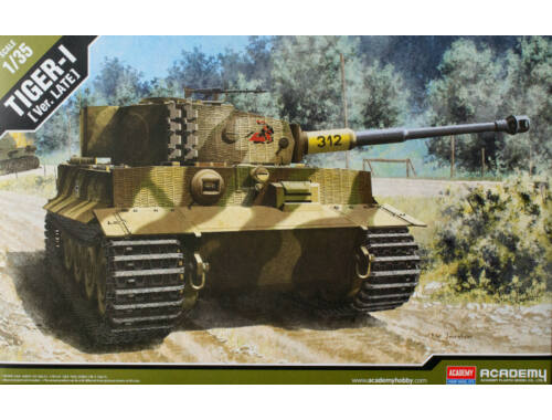 Academy Tiger I Late version 1:35 (13314)