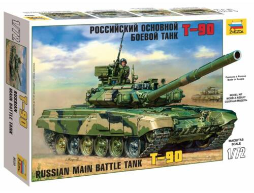 Zvezda Russian Main Battle Tank T-90 1:72 (5020)