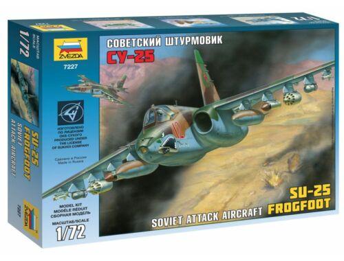 Zvezda Soviet Attack Aircraft SU-25 Frogfoot 1:72 (7227)