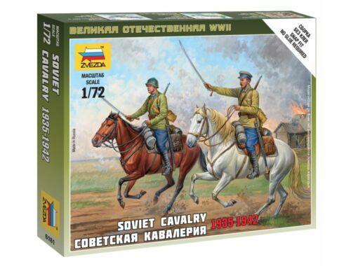 Zvezda Soviet Cavalry 1935-1942 1:72 (6161)