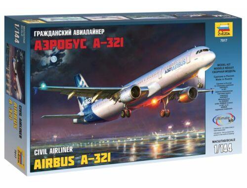 Zvezda Airbus A-321 1:144 (7017)
