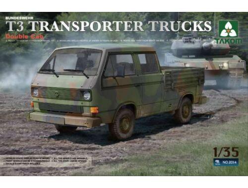 Takom T3 Transporter Truck Double Cab 1/35 (2014)
