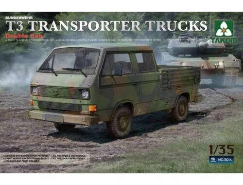 Takom T3 Transporter Truck Double Cab 1/35 (2014)