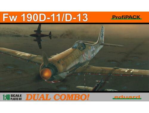 Eduard Fw 190D-11/D-13 DUAL COMBO ProfiPACK 1:48 (8185)