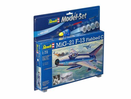 Revell Model Set MIG-21 F-13 Fishbed C 1:72 (63967)
