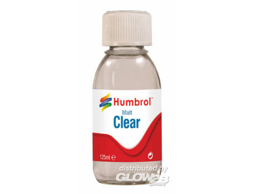 Humbrol Water-Based Varnish 125 ml Matt (AC7434)