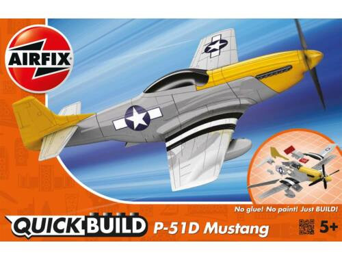 Airfix Quickbuild P-51D Mustang repülő J6016
