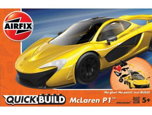 Airfix Quickbuild McLaren P1 sárga autó J6013