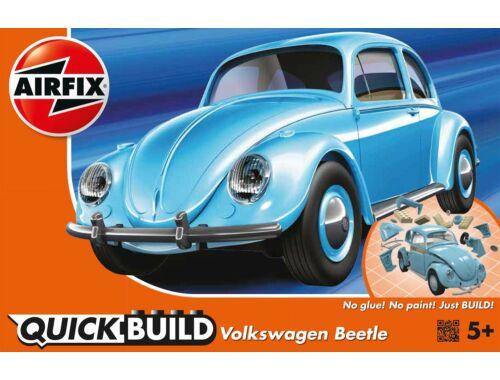 Airfix Quickbuild VW Beetle kék autó J6015