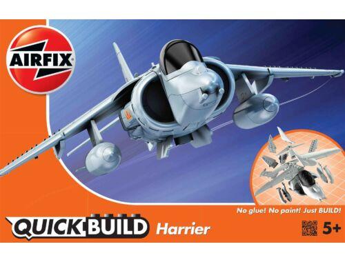 Airfix Quickbuild Harrier repülő J6009