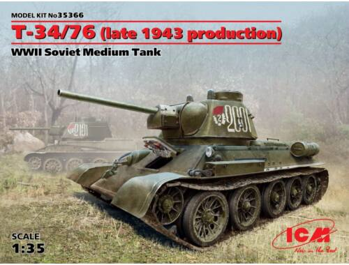 ICM T-34/76 late 1943 production 1:35 (35366)
