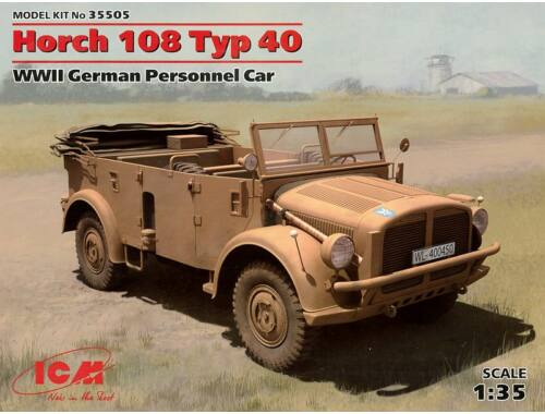 ICM Horch 108 Type 40, WWII German Personnel Car 1:35 (35505)
