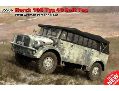 ICM Horch 108 Type 40 Soft Top 1:35 (35506)
