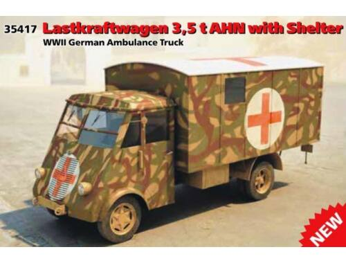 ICM Truck 3.5t AHN with Shelter 1:35 (35417)