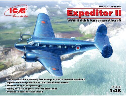 ICM Expeditor II, WWII British Passenger Aircraft 1:48 (48182)