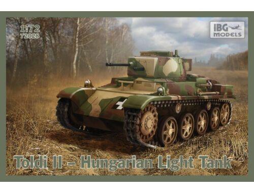 IBG Toldi II Hungarian Light Tank 1/72 (72028)