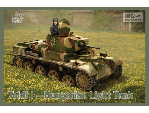 IBG Toldi I Hungarian Light Tank 1/72 (72027)