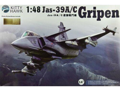 """Kitty Hawk Jas-39A/C """"Gripen"""" 1:48 (KH80117)"""