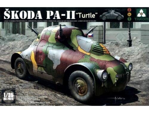 "Takom Skoda PA-II ""Turtel"" 1/35 (2024)"