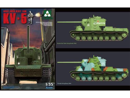 Takom Soviet Super Heavy tank KV-5 1/35 (2006)