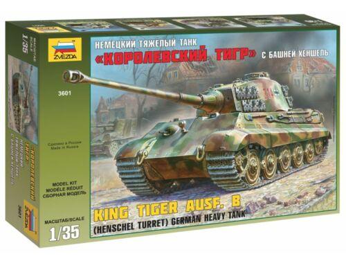 Zvezda King Tiger Ausf. B (Henschel Turret) 1:35 (3601)