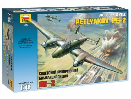 Zvezda Petlyakov Pe-2 Airplane 1:48 (4809)