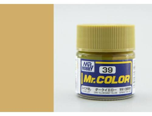 Mr.Hobby Mr.Color C-039 Dark Yellow (Sandy Yellow)