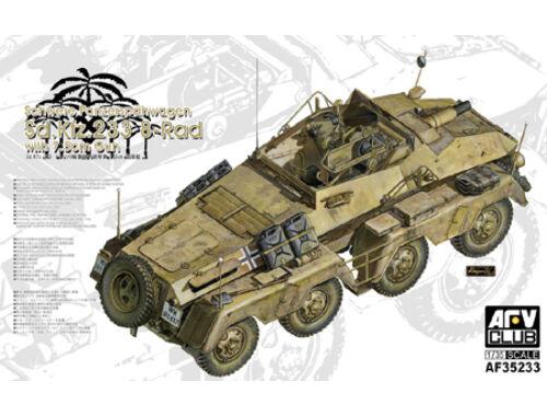 AFV Club Sd.Kfz.233 8-Rad with 7,5 cm Gun Schwere Panzerspähwagen 1/35 (AF35233)