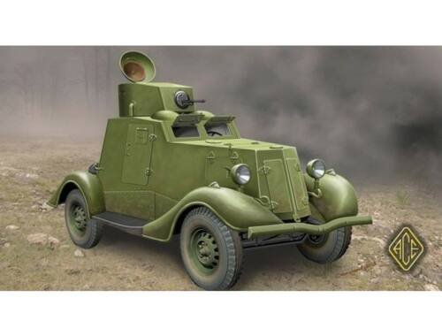 ACE FAI-M Soviet light armored car 1:48 (48107)