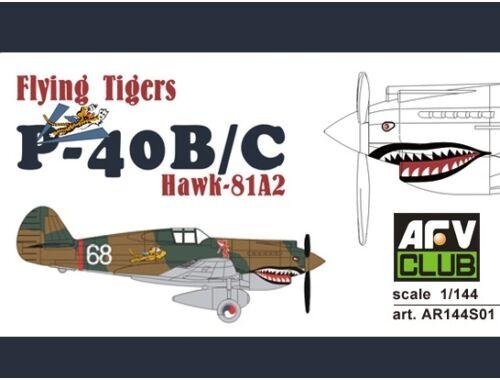 AFV Club Flying Tigers P-40B/C 1:144 (AR144S01)