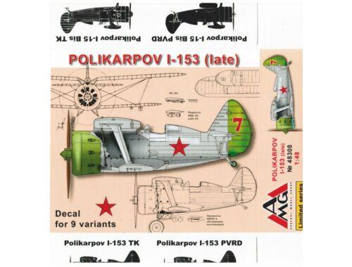 AMG Polikarpov I-153 Chaika (late) 1:48 (AMG48308)