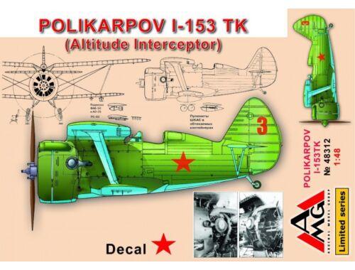 AMG Polikarpov I-153 TK (altitude intercepto 1:48 (48312)
