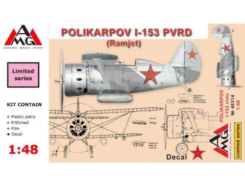 AMG Polikarpov I-153 (in Foreign service) 1:48 (AMG48314)